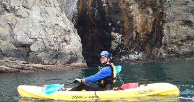 PAINTED CAVE KAYAKING